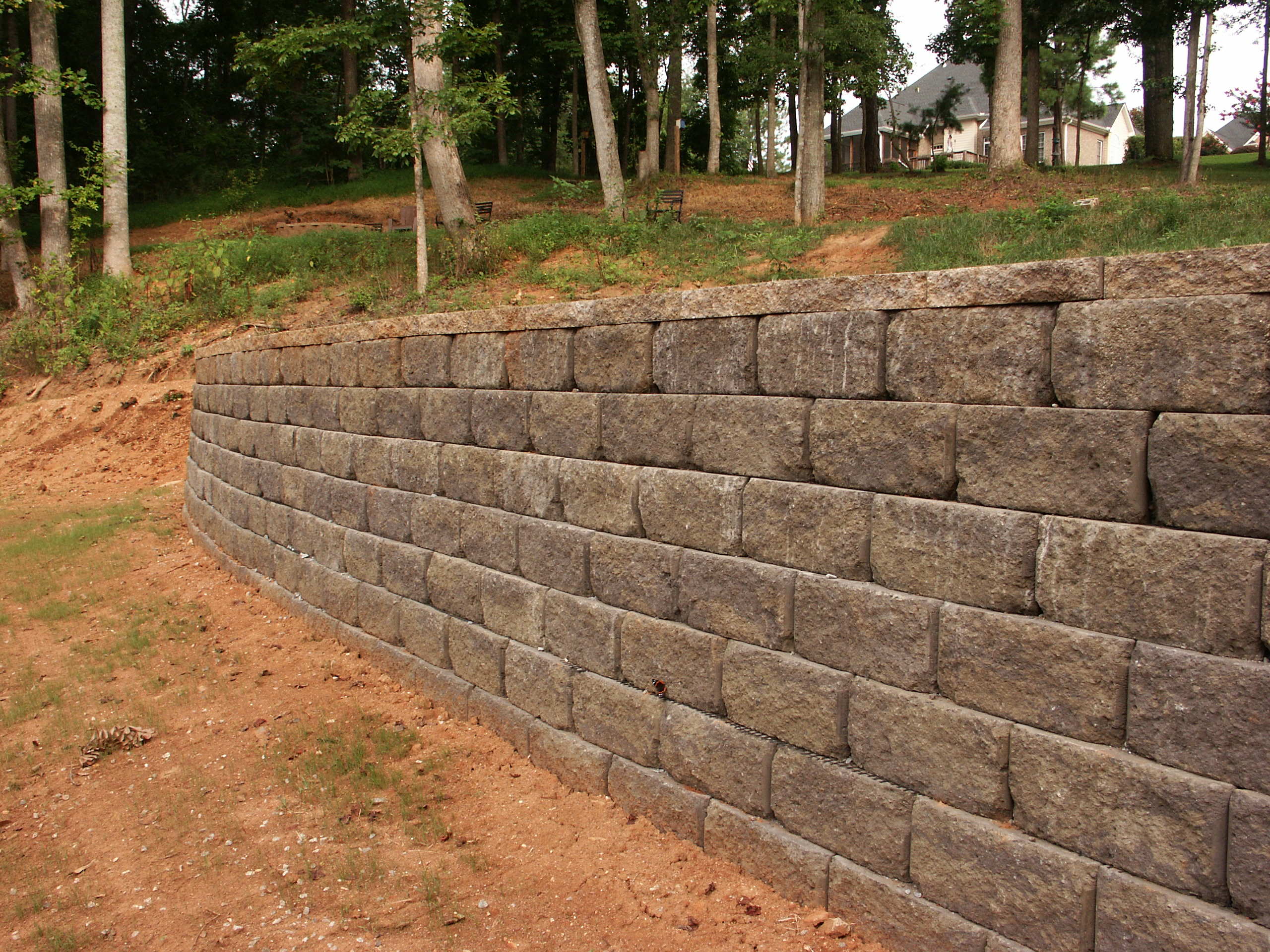 Retaining Wall Built Right Landscaper Greenville